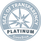 Seal  of Transparency 2017 Platinum Guide Star