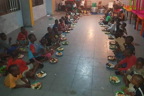 Feed Orphans in DRC